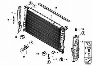 Original Parts For E93 335i N54 Cabrio    Radiator
