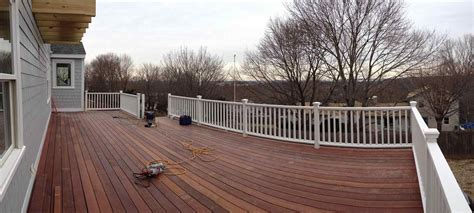 the images collection of composite deck color ideas for