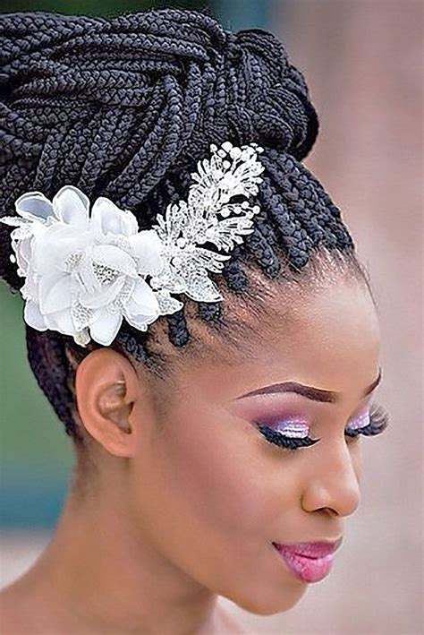 36 black women wedding hairstyles black wedding