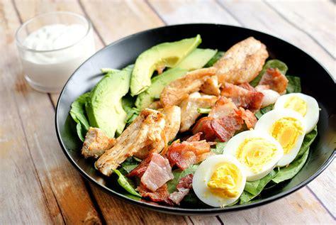 cobb salad keto recipe hub