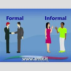 Italian Video Lesson  Formal Or Informal? Youtube