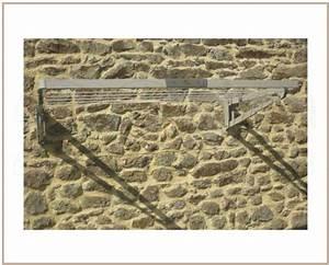 Séchoir À Linge Mural : tendoir linge ext rieur mural ~ Melissatoandfro.com Idées de Décoration