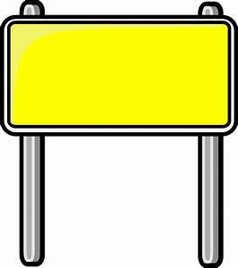 highway sign yellow - /blanks/road_signs/highway_signs ...