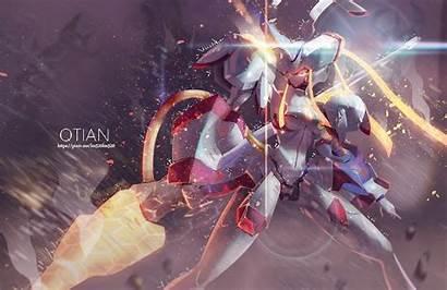 Darling Franxx Wallpapers Strelizia Anime Mecha Spear