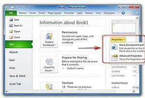 excel worksheet properties free worksheets library With document library properties