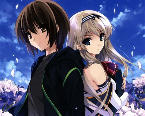 anime couples wallpapers wallpaper cave