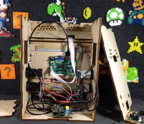 Build Arcade Cabinet Raspberry Pi by Build Your Own Mini Arcade Cabinet With Raspberry Pi