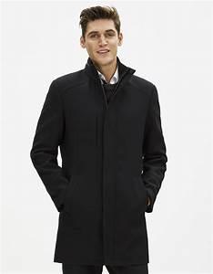 Manteau Homme Mi Long : manteau col officier en laine fuoffice celio france ~ Melissatoandfro.com Idées de Décoration