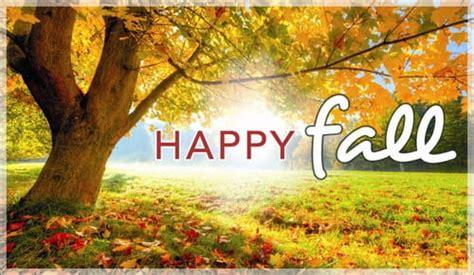happy fall ecard  autumn cards