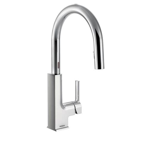 touch sensitive kitchen faucet moen no touch faucet