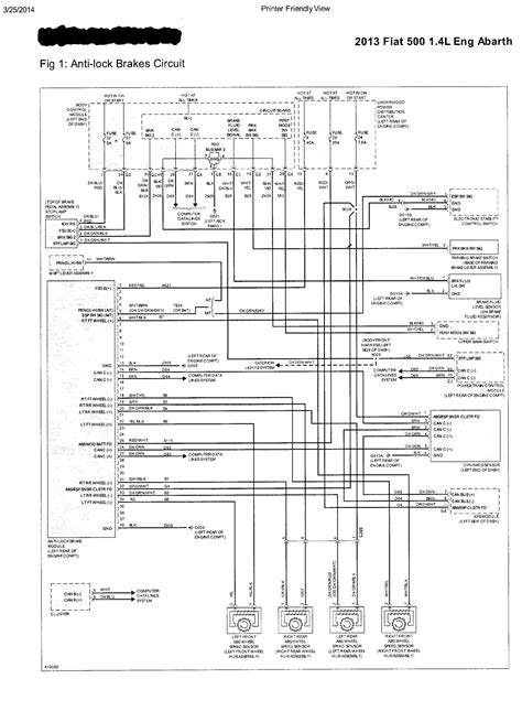Fiat Panda Wiring Diagram by Fiat 500 Wiring Diagram Auto Electrical Wiring Diagram