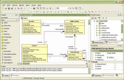 uml authoring tool software engineering stack