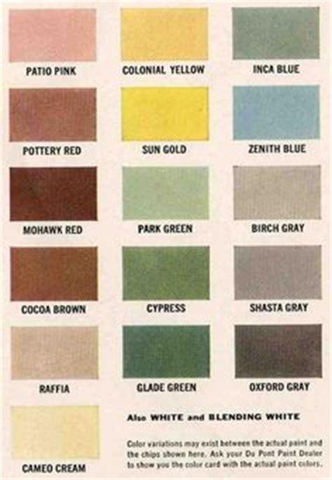 color palette for kitchen 1950s exterior paint colors 1950s doors and 5550