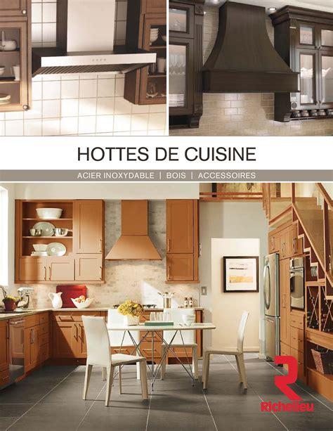 cuisine richelieu librairie des catalogues richelieu hottes de cuisine