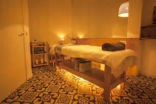 Relaxing Spa Massage Room