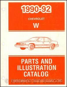 1992 Chevy Lumina Car Repair Shop Manual Original 2 Volume Set