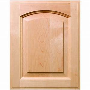 Custom Patriot Arch Style Raised Panel Cabinet Door