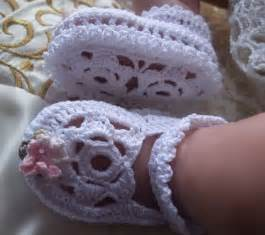 Thread Crochet Patterns Baby Booties