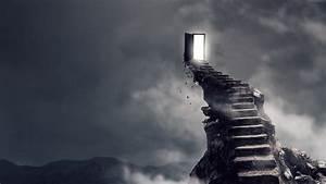 Surrealism, Dark, Hell, Stairs, 4k, Hd, Wallpapers