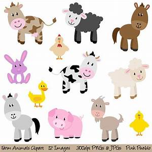 Cute Farm Animals Clipart (52+)