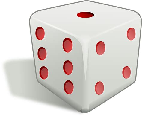 Free vector graphic: Dice, Cube, Die, Game, Gambling