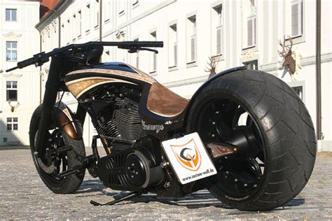 More Extreme Harley-Davidson Choppers from Custom-Wolf ...