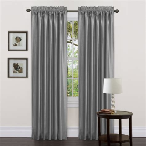 Grey Drapery Panels by Decorating Impressive Target Threshold Curtains With