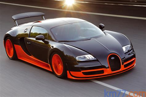 Bugatti Veyron 16.4 Super Sport Sets Land Speed Record At