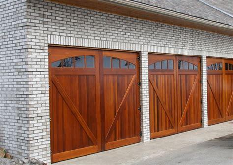 Wood Garage Door by Wood Garage Doors And Carriage Doors Clearville