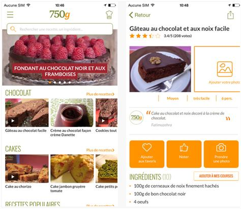 application recette cuisine application recette cuisine iphone un site culinaire