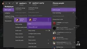 How To Use Party Chat On Xbox One Windows 10 Android And IOS