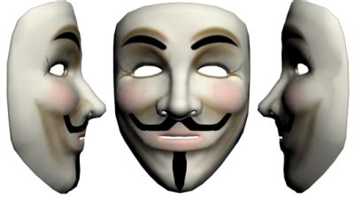 anonymous mask  png transparent image  clipart