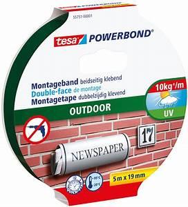 Tesa Bilder Aufhängen : tesa 55751 tesa powerbond outdoor 5 m x 19 mm bei reichelt elektronik ~ Orissabook.com Haus und Dekorationen