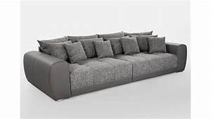 Big Sofa 250 Cm : big sofa sam polsterm bel xxl sofa in grau hellgrau 310 cm ~ Bigdaddyawards.com Haus und Dekorationen