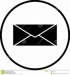 Illustrazione Di Vettore Di Simbolo Della Busta Della