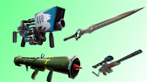 vaulted weapons  fortnite creative
