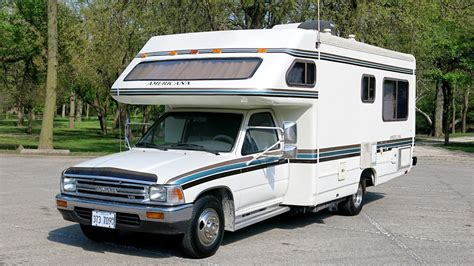 toyota motorhome 1990 toyota odyssey americana motorhome for sale in morris il