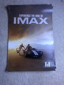 """As for the retro part, well it's kind of sad: Ford vs Ferrari Movie 13""""x19"""" Limited Edition IMAX Posters PROMO Ford Gt 