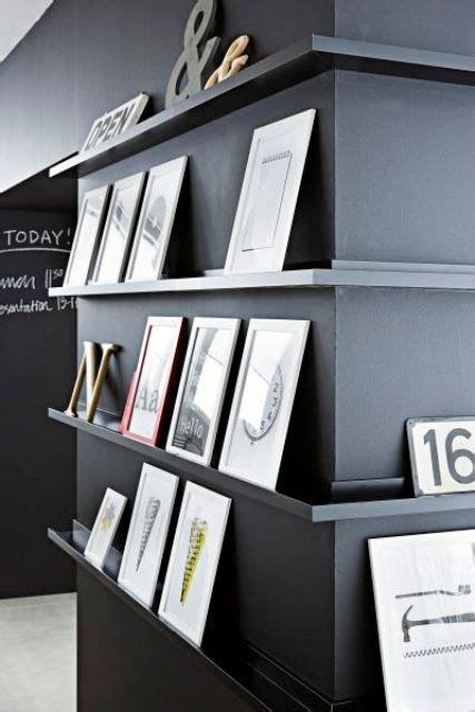 display ledges 29 ideas to use ikea ribba ledges around the house digsdigs