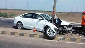 Latest Car Accident Of Audi A4 - Road
