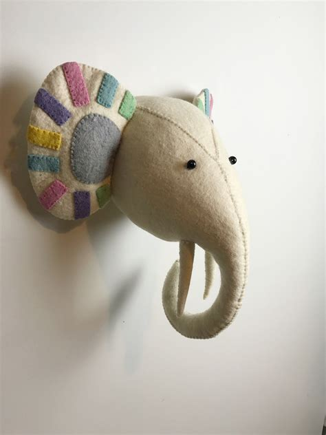 fiona walker pastel elephant head diddle tinkers