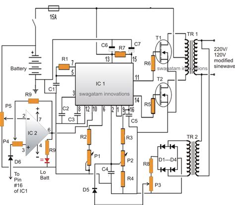 Inverter Circuit Pdf Ourclipart