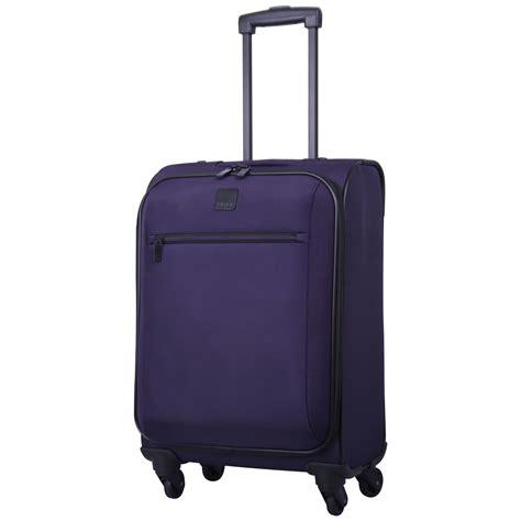 cabin luggage suitcase tripp grape circle 4 wheel cabin suitcase soft