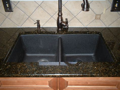 black granite kitchen sink sinks astonishing black granite kitchen sink black