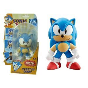 Sonic The Hedgehog Mini Stretch Armstrong Figure Classic