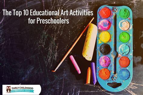 10 creative amp educational activities for preschoolers 906 | ECE Art Activities
