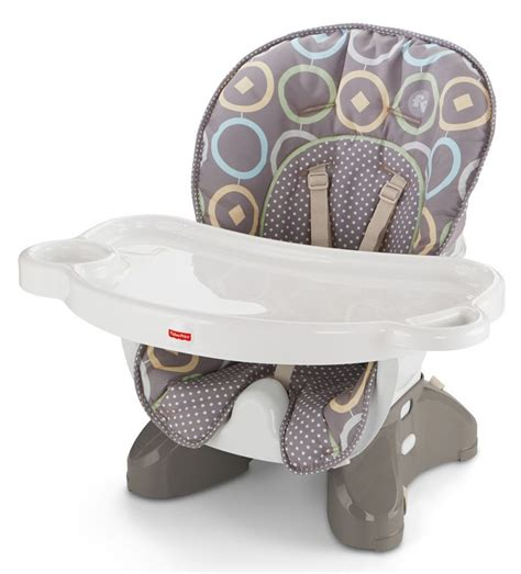 new fisher price space saver high chair booster luminosity