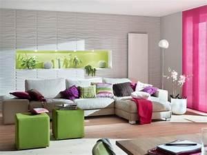 Wandgestaltung Im Wohnzimmer : kreative wandgestaltung wohnzimmer 3d ~ Sanjose-hotels-ca.com Haus und Dekorationen