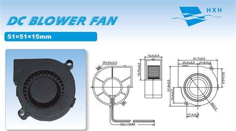 mm high pressure blower  small size air blower fan