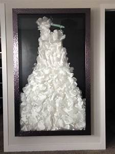 fine custom framing for your wedding dress the framery With shadow box for wedding dress